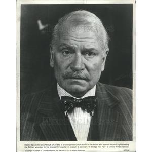 1977 Press Photo Laurence Olivier British Actor Director Producer - RSC65557