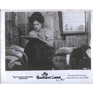 "1980 Press Photo Actress Judy Davis in ""My Brilliant Career."" - RSC68085"
