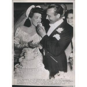 1945 Press Photo ANNE GWYNNE AMERICAN FILM ACTRESS MAX M. GILFORD - RSC77893