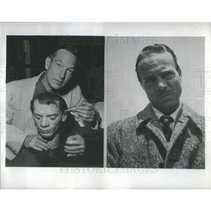 1952 Press Photo Jay Novello American Film & Television Actor - RSC76961