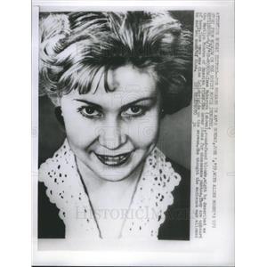 1959 Press Photo Inna Vladimirovna Makarova - RSC62553