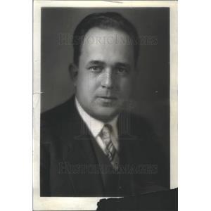 1932 Press Photo George Washington University president Cloyd H. Marvin