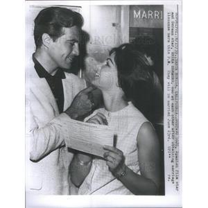 1959 Press Photo Erika Remberg (Film Star) - RSC50027