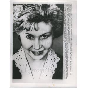 1959 Press Photo Inna Makarova, Russia's Marilyn Monroe - RSC62555