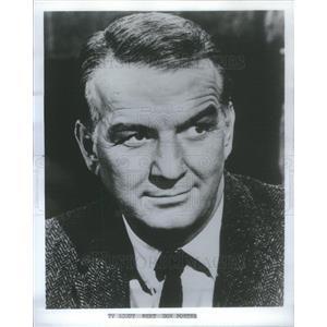 1969 Press Photo Donald Porter American Actor - RSC72479
