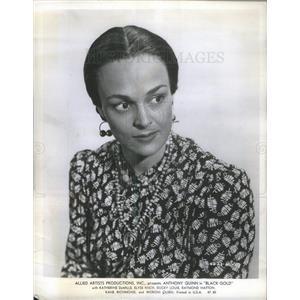 1947 Press Photo Katherine DeMille American Film Actress - RSC70683