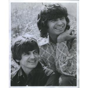 1978 Press Photo Don and Phil Everly Brothers Screen Gems Actors - RSC81959