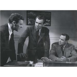 1952 Press Photo Mayor Church movie actor Archer Williams The Great Jewel Robber