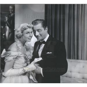 1953 Press Photo Claude Dauphin Makes Hollywood Debut In April In Paris