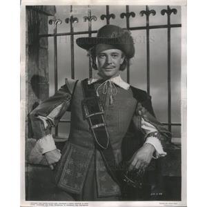 """1951 Press Photo Actor William Prince """"Cyrano de Bergerac"""" - RSC74357"""