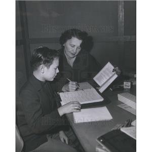 1953 Press Photo Actor Wesley Morgan - RSC72291