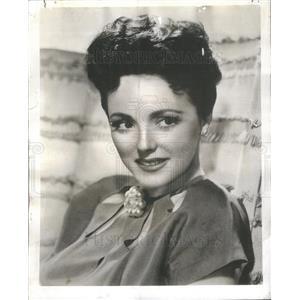 """1946 Press Photo LINA ROMAY SPANISH ACTRESS """"PHILCO RADIO TIME"""" - RSC50625"""