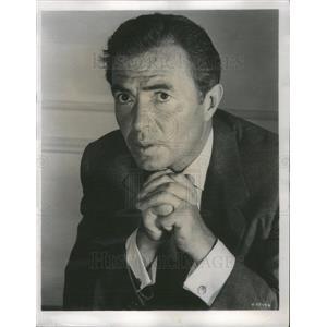1958 Press Photo James Mason British Actor Cry Terror Film Movie - RSC81515
