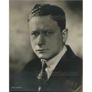 1929 Press Photo Efrem Zimbalist, Actor
