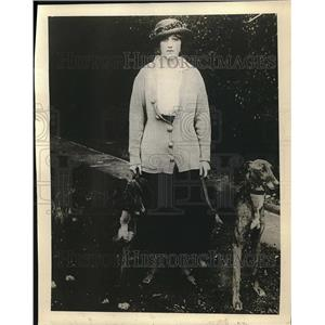 1918 Press Photo Lady Blanche Somerset, Wife of Earl of St. Germains