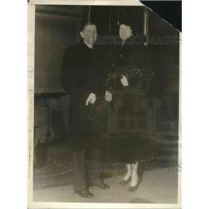 1936 Press Photo Will Hays, bride Mrs. Jennie Herron Stutesman
