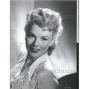 Press Photo Actress and Dancer Sally Forrest - RRT41425