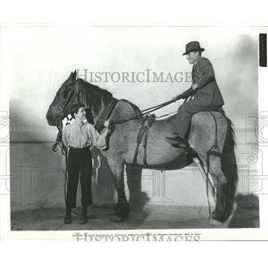1934 Press Photo Frank Furlong riding Cuby - RRT58651