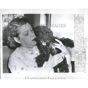 1955 Press Photo Diana Barrymore French Actress Recover - RRT55391