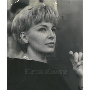 1961 Press Photo American Actress Joanne Woodward
