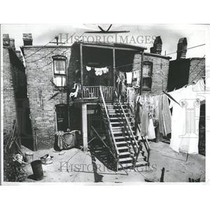 1963 Press Photo Housing Virginia Urban Area