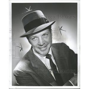 1959 Press Photo Dan Dailey Dancer Actor