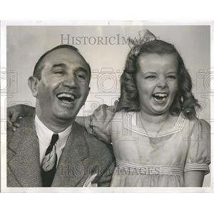 1942 Press Photo Sammy White Actor Lorna Lynn - RRT11189