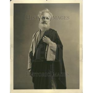 """1929 Press Photo Actor Heinrich Hauk In """"Passion Play"""" - RRT14943"""