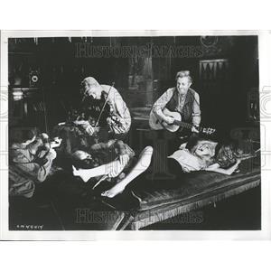 1958 Press Photo The Brothers Karamazov film - RRT11203