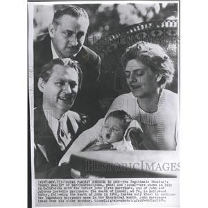 1954 Press Photo Ethel Barrymore - RRT65165