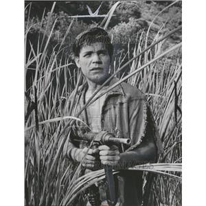 "1959 Neville Brand In ""Five Gates To Hell"" Press Photo - RRT00033"