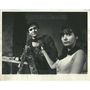 1965 Press Photo Gerome Ragni Joyce Aaron Actress Knack