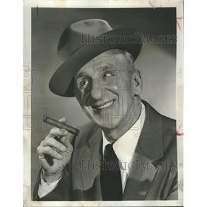 1952 Press Photo Jimmy Durante Actor - RRT63815
