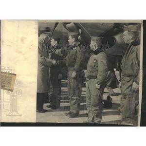 1949 Press Photo Hoyt Vadenberg Secretary Air Symington - RRT53985