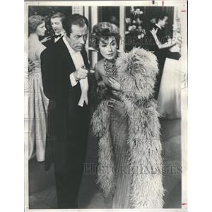 1958 Press Photo Rex Harrison Kay Kendall Movie - RRT50929