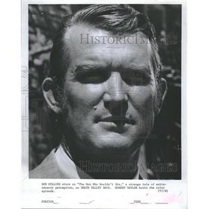 1967 Press Photo Don Collier Actor Death Valley Days