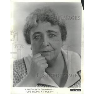 1935 Press Photo Jane Darwell (Actress) - RRT62415