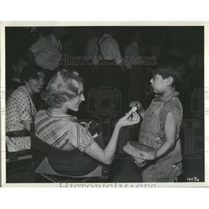 1934 Press Photo Ketti Gallian Actress Marie Galante - RRT55475