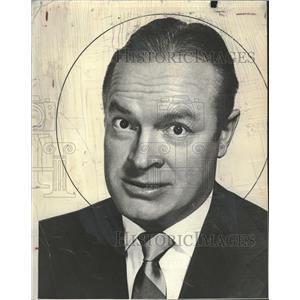 1958 Press Photo Bob Hope American Comedian Actor - RRT68499