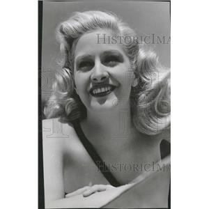 1946 Press Photo Marilyn Maxwell American Actress - RRT70529
