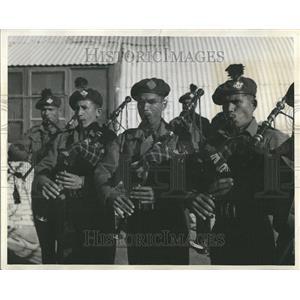 1957 Press Photo United Nation U.N Troops India Gaza - RRT28521