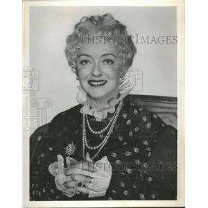 1957 Press Photo Bette Davis Actress 1 - RRT76411