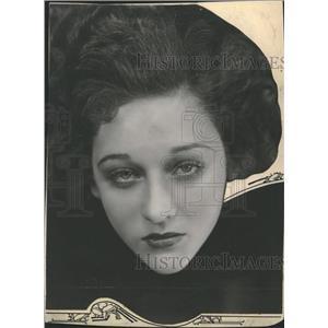 1931 Press Photo Actress Mae Madison - RRT65217