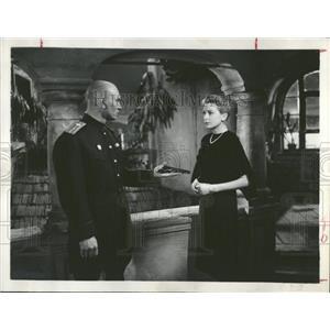 1959 Press Photo Miss. Kerr & Yul Brynner, Actors. - RRT55705