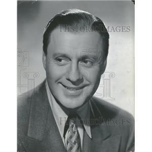 1944 Press Photo Jack Benny Actor Comedian Vaudevillian - RRT44031