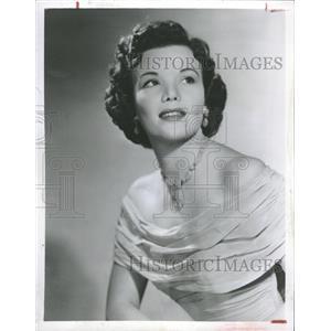 1954 Press Photo Nanette Fabray American Actress - RRT62725