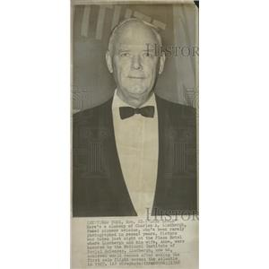 1968 Press Photo Charles Lindbergh Award Social Science