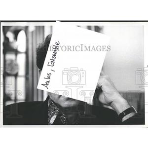 1972 Press Photo Jean Aumont French Actor Author