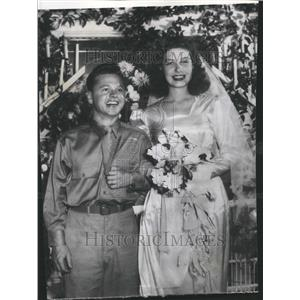 1944 Press Photo Mickey Rooney American Actor BettyRose