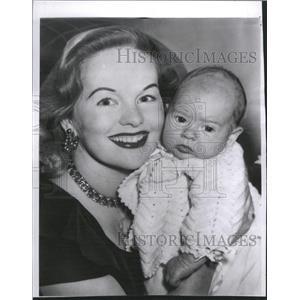 1954 Press Photo British Actress Peggy Cummings - RRT63173